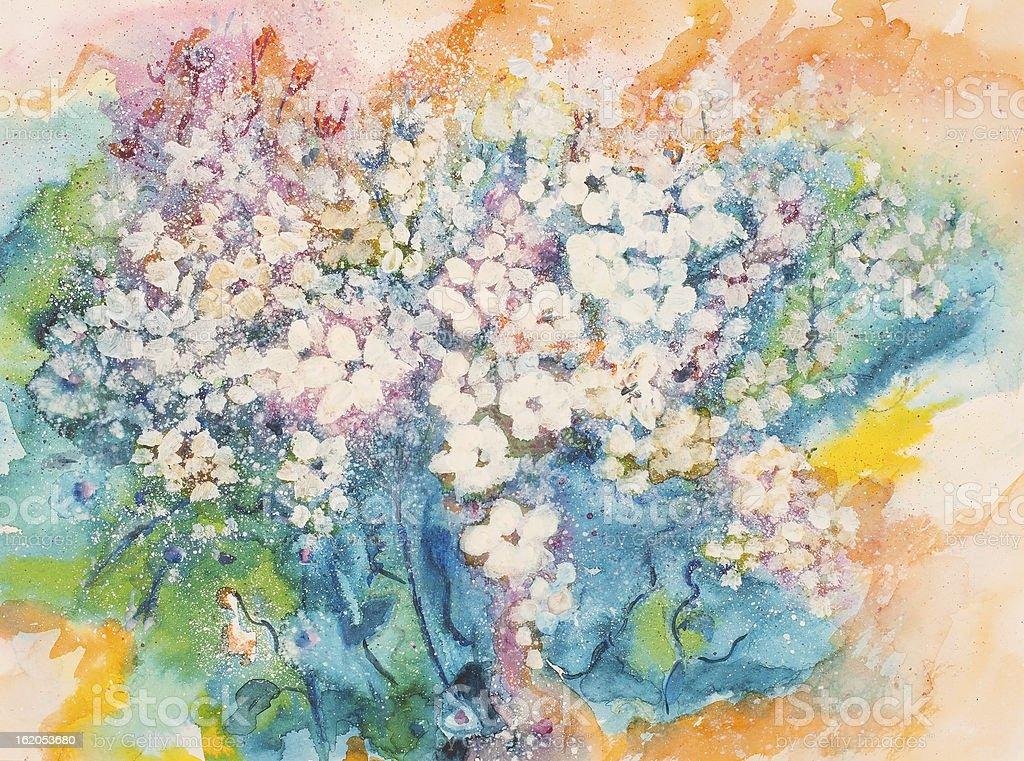 Buena suerte Bouquet illustracion libre de derechos libre de derechos