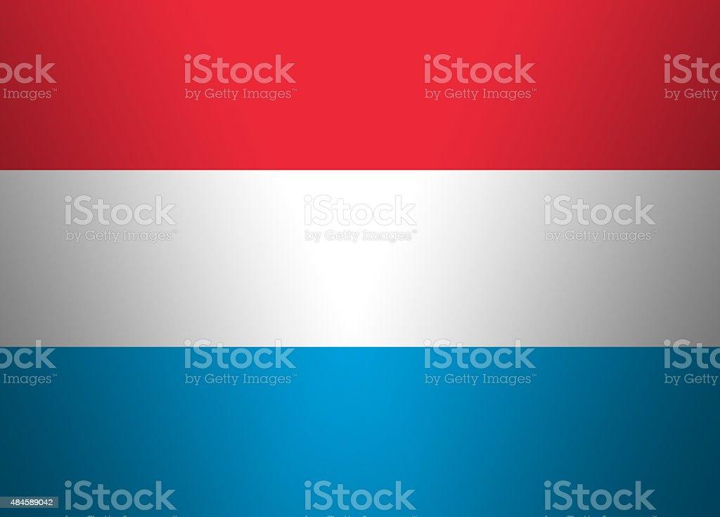 Gradient Flag Background Luxemburg vector art illustration