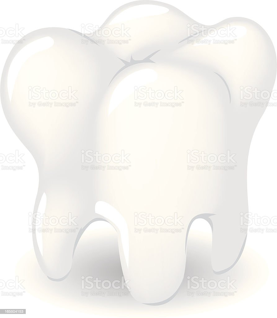gradient tooth royalty-free stock vector art