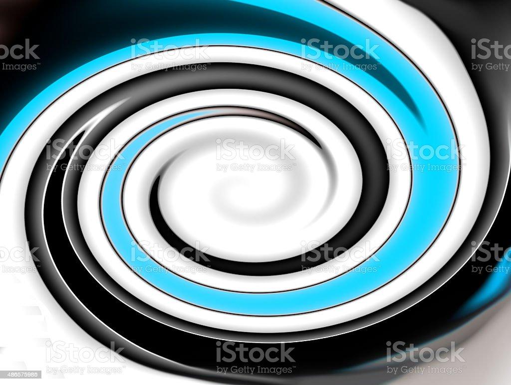 gradient whirlpool vector art illustration