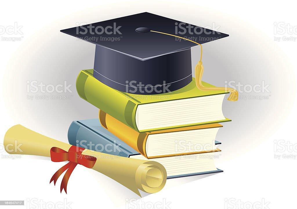Graduation Symbol royalty-free stock vector art