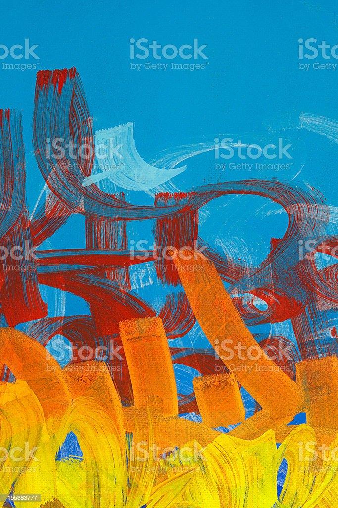 Graffiti paint. royalty-free stock vector art