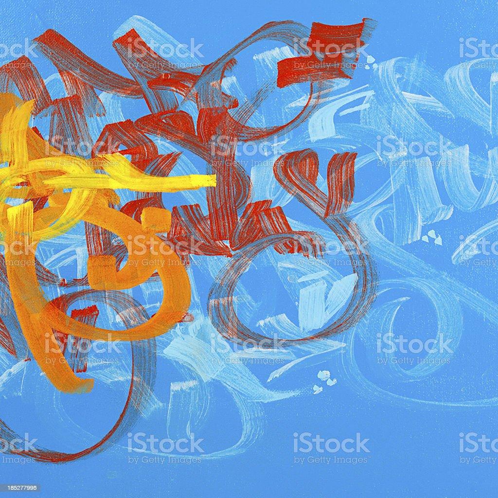 Graffiti paint. vector art illustration