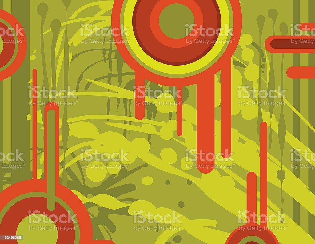 Graffitti Splat royalty-free stock vector art