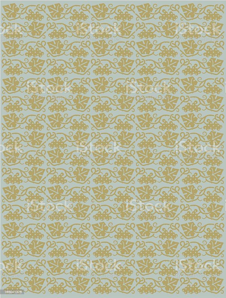 Grape vine background royalty-free stock vector art