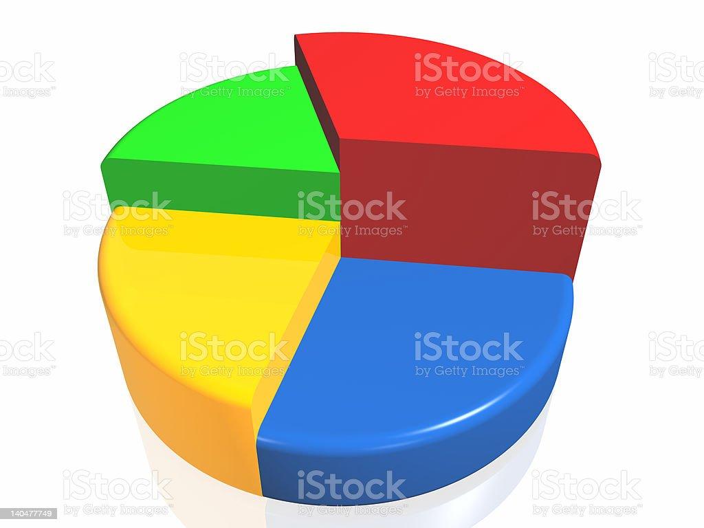 Graph of success royalty-free stock vector art