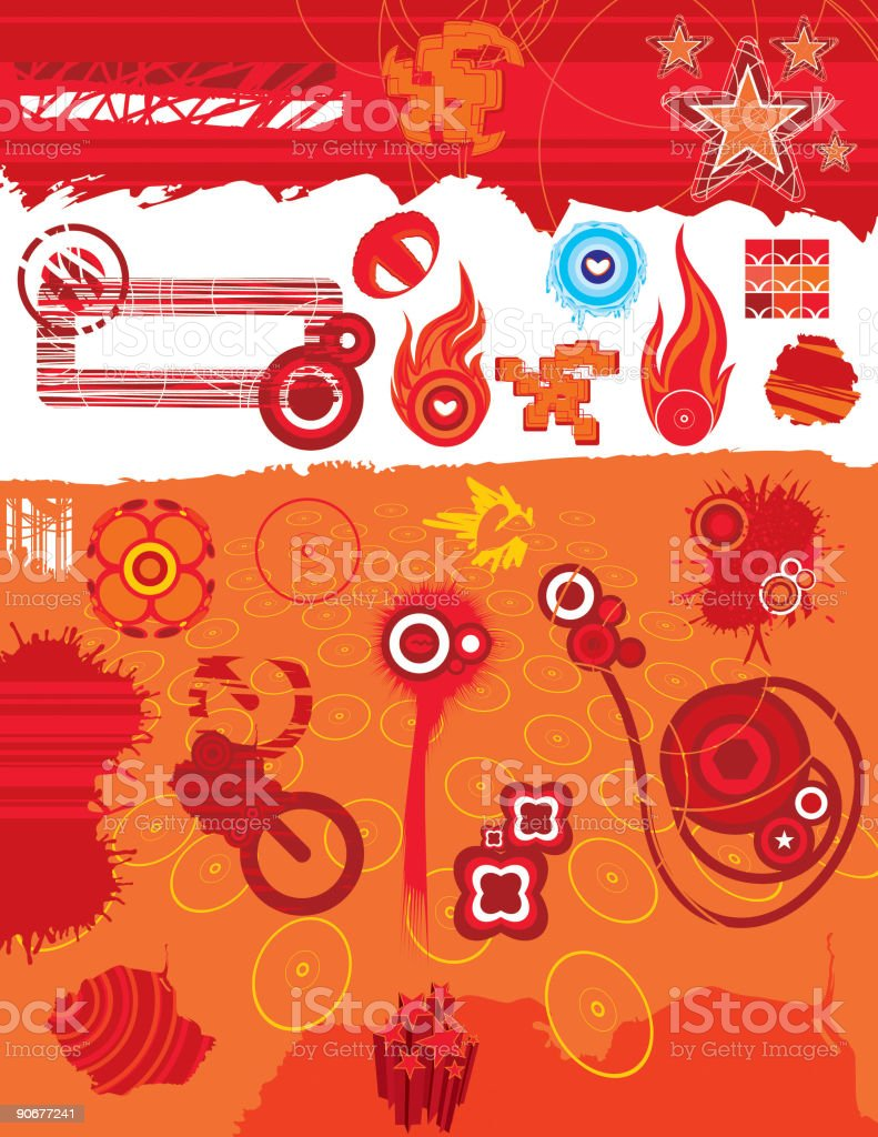 Graphic Elements 9 (Vector) royalty-free stock vector art