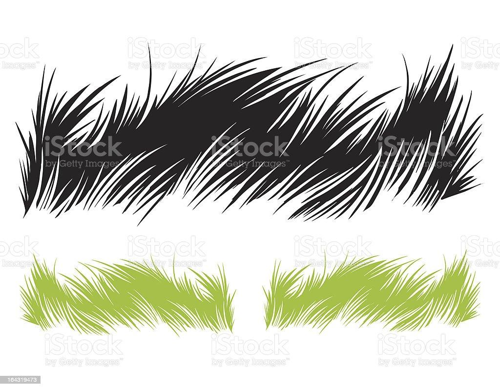 Grass illustration vector art illustration