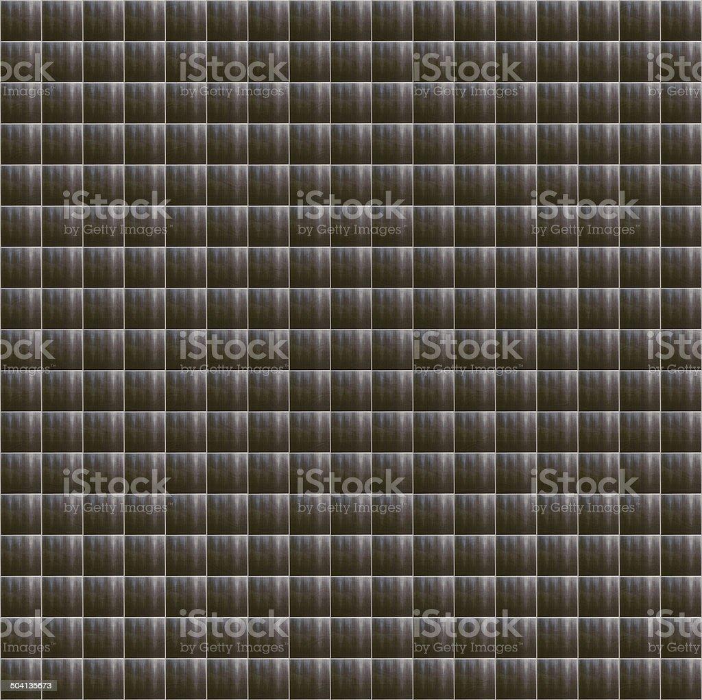 Gray Ceramic Tiles Mosaic vector art illustration