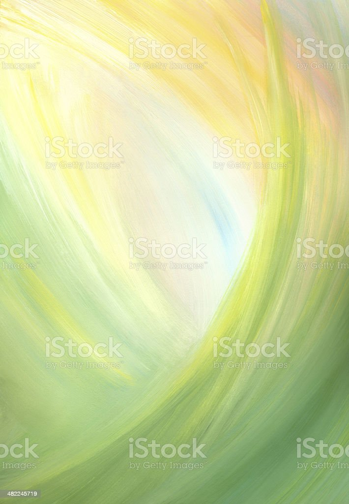 Green abstract background vector art illustration