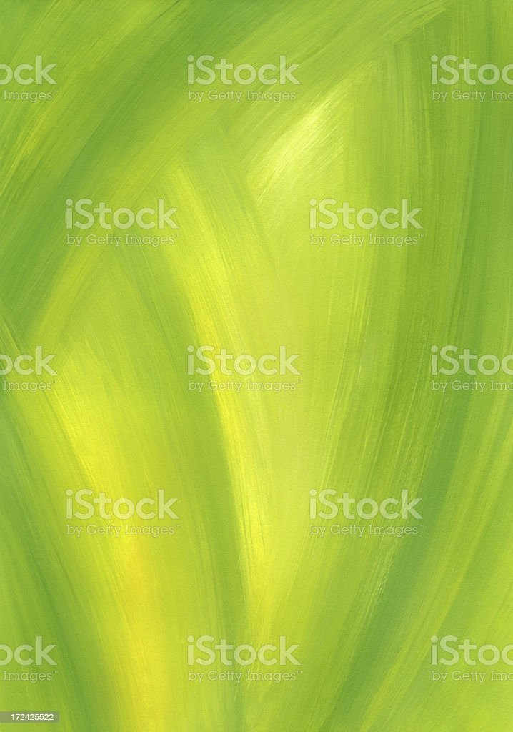 Green Abstract Painted Background royalty-free stock vector art