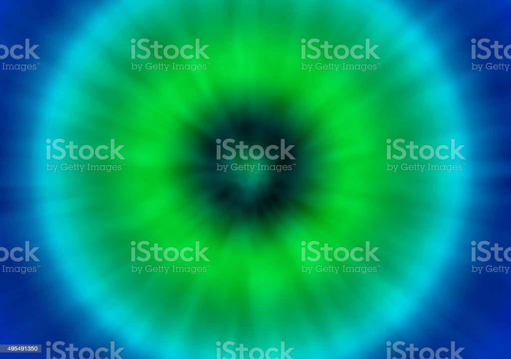 green and blue tie dye retro background vector art illustration