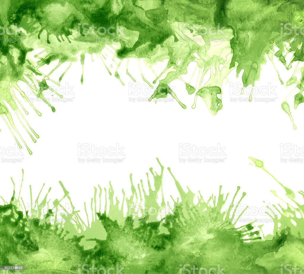 Green Art Abstract Background stock photo