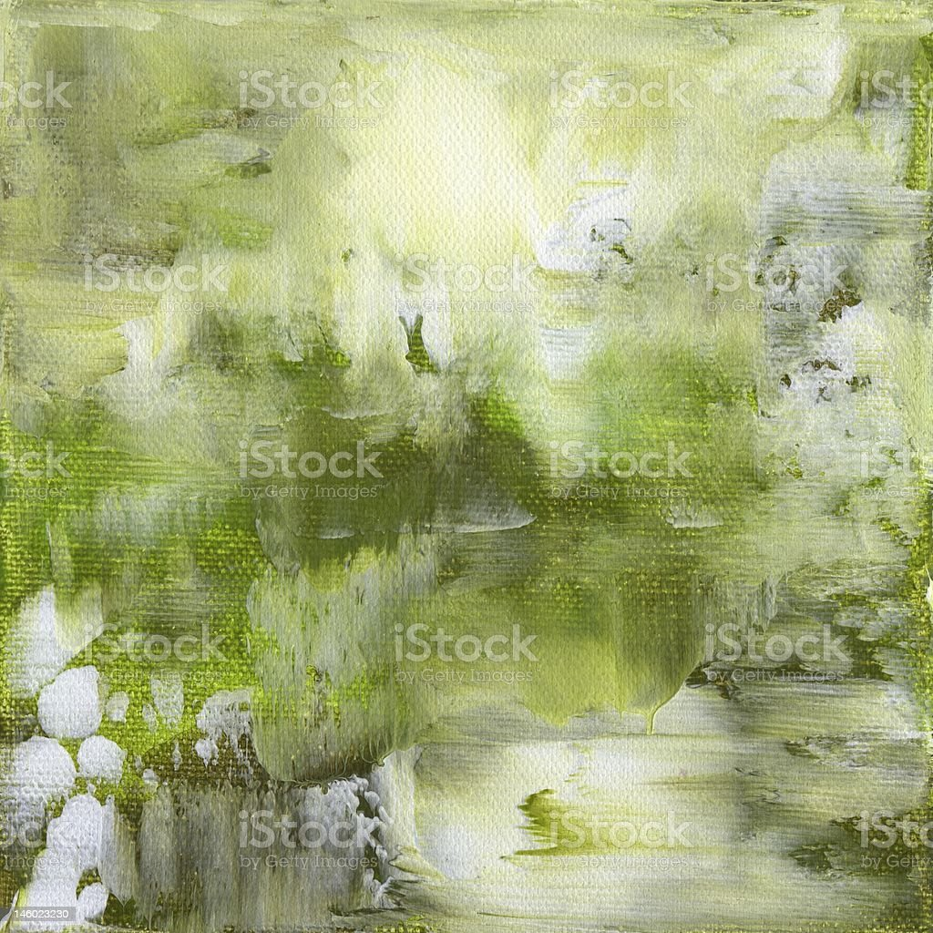 Green background - Hintergrund in grün royalty-free stock vector art