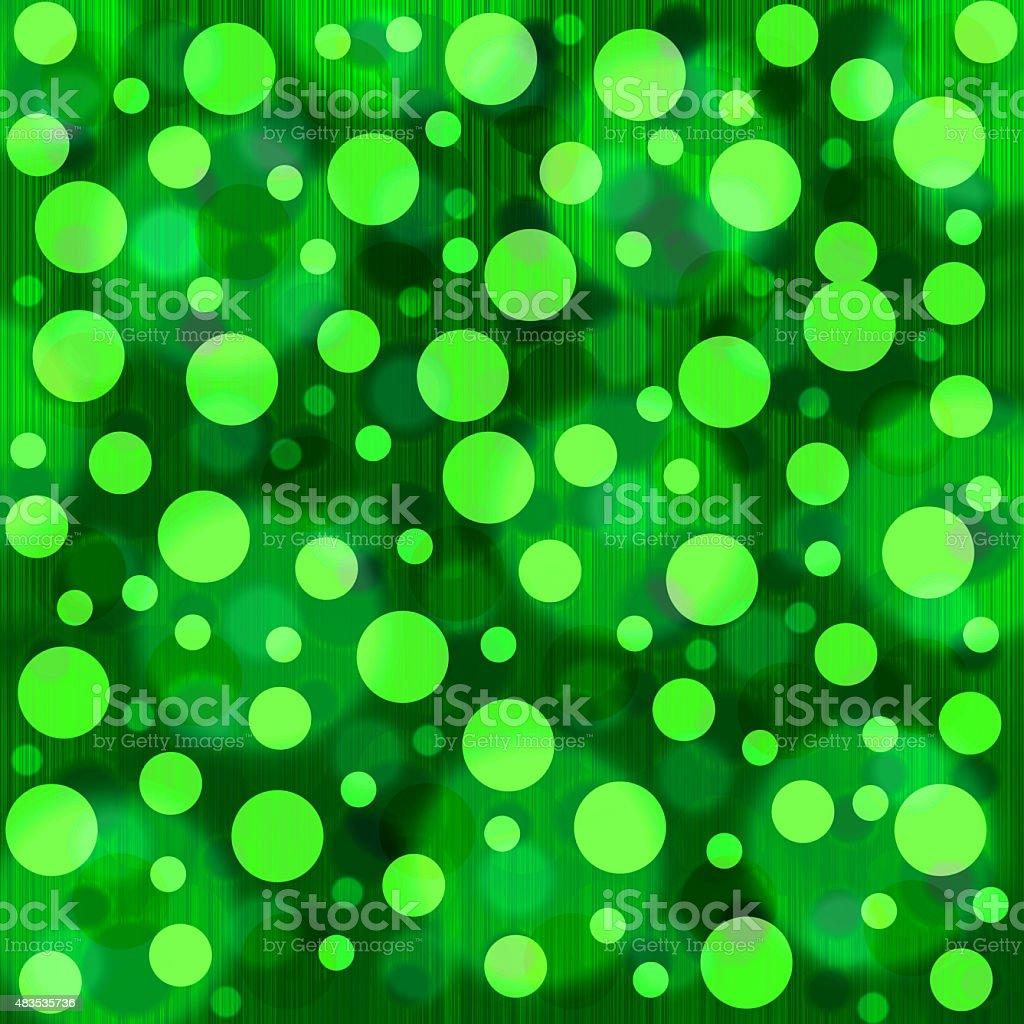 green bokeh background vector art illustration