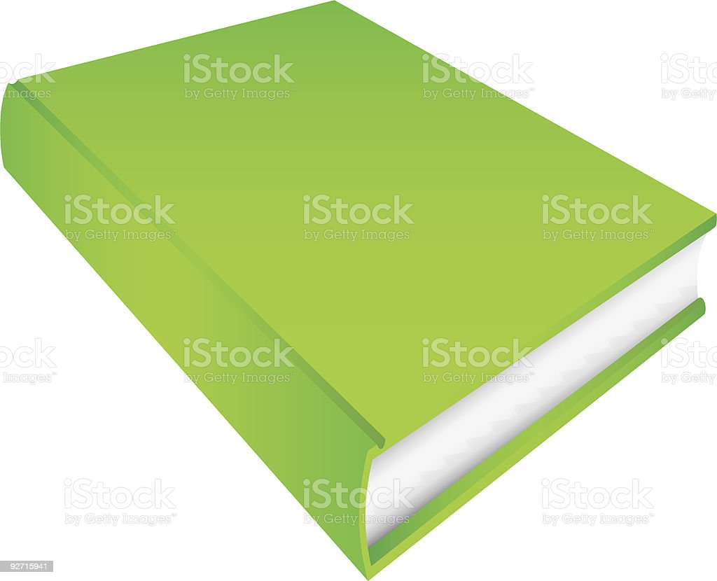 Green Book royalty-free stock vector art