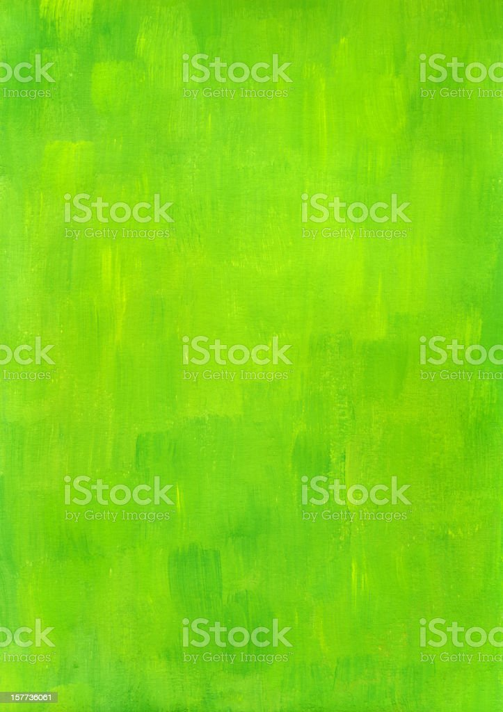 Green brushed background vector art illustration