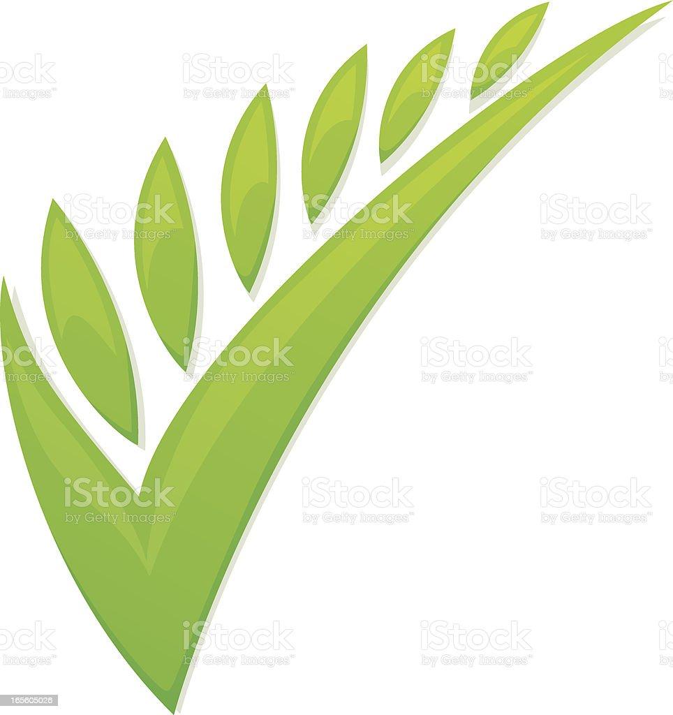green check royalty-free stock vector art