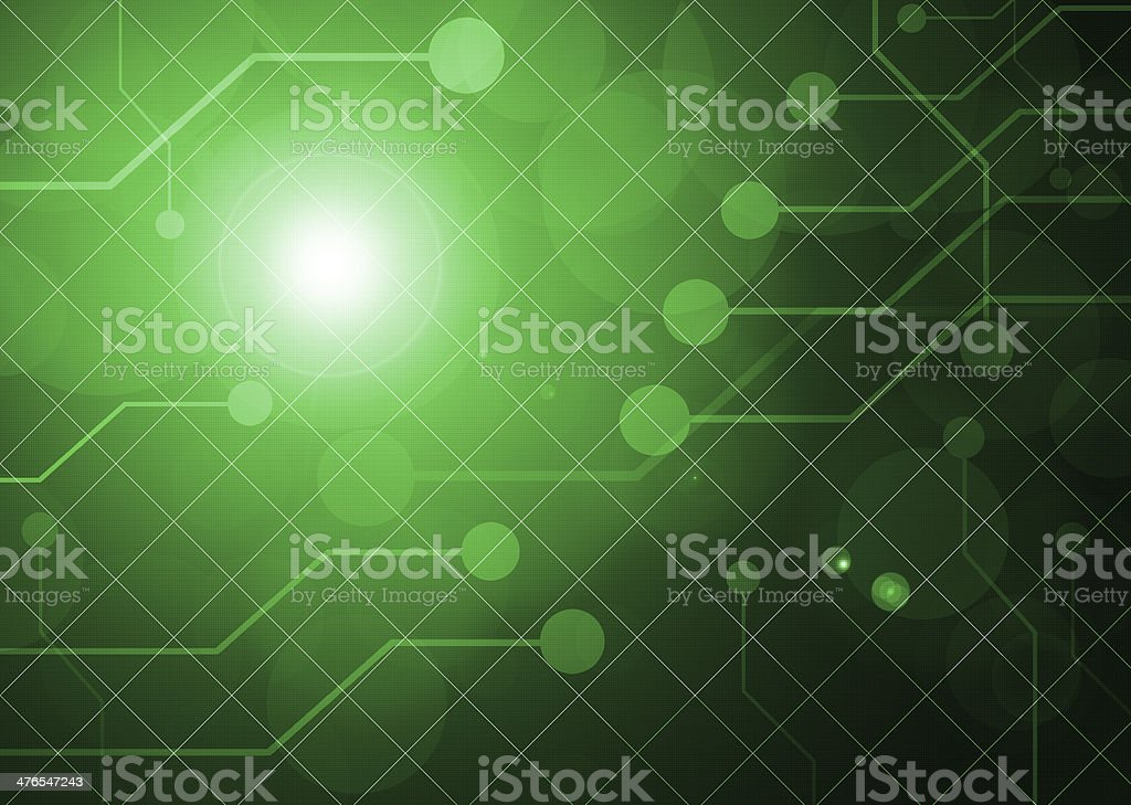 green digital background royalty-free stock vector art