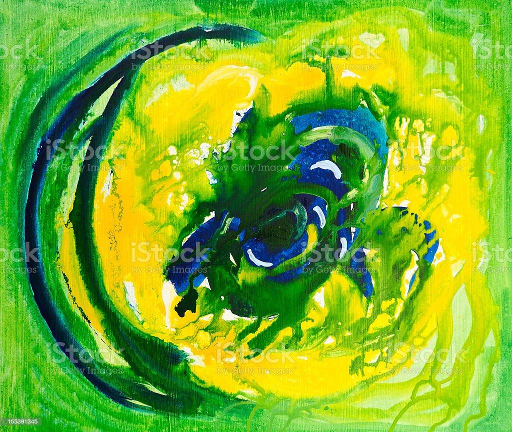Green eye royalty-free stock vector art