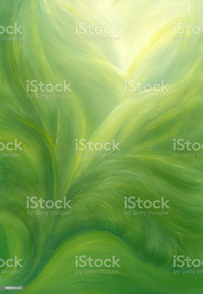 Green Floral Background royalty-free stock vector art