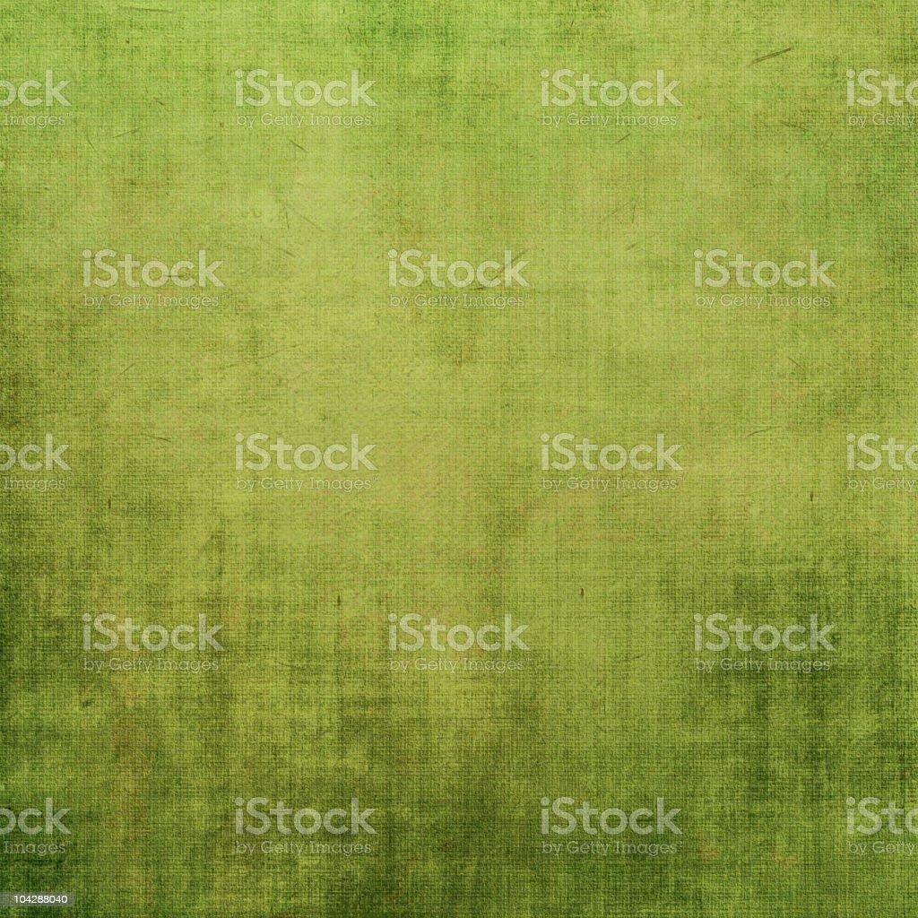 Green grunge canvas textured background vector art illustration