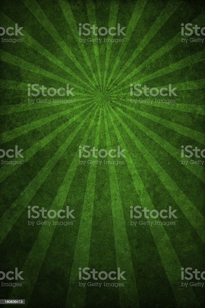 green grunge texture with sunrays royalty-free stock vector art