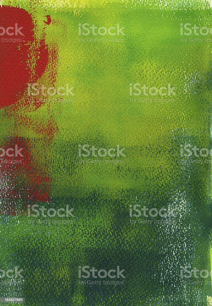 Green orange abstract background royalty-free stock vector art