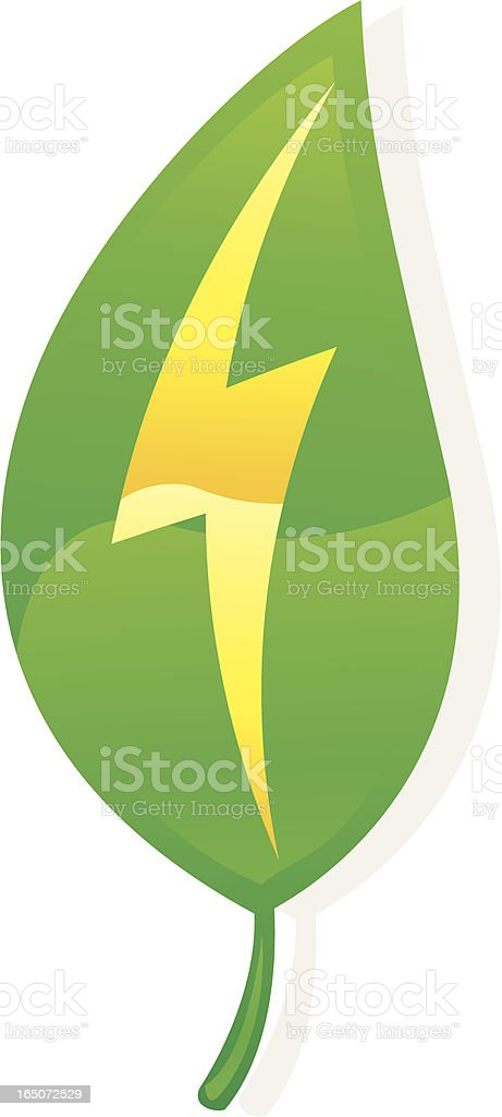 green power royalty-free stock vector art
