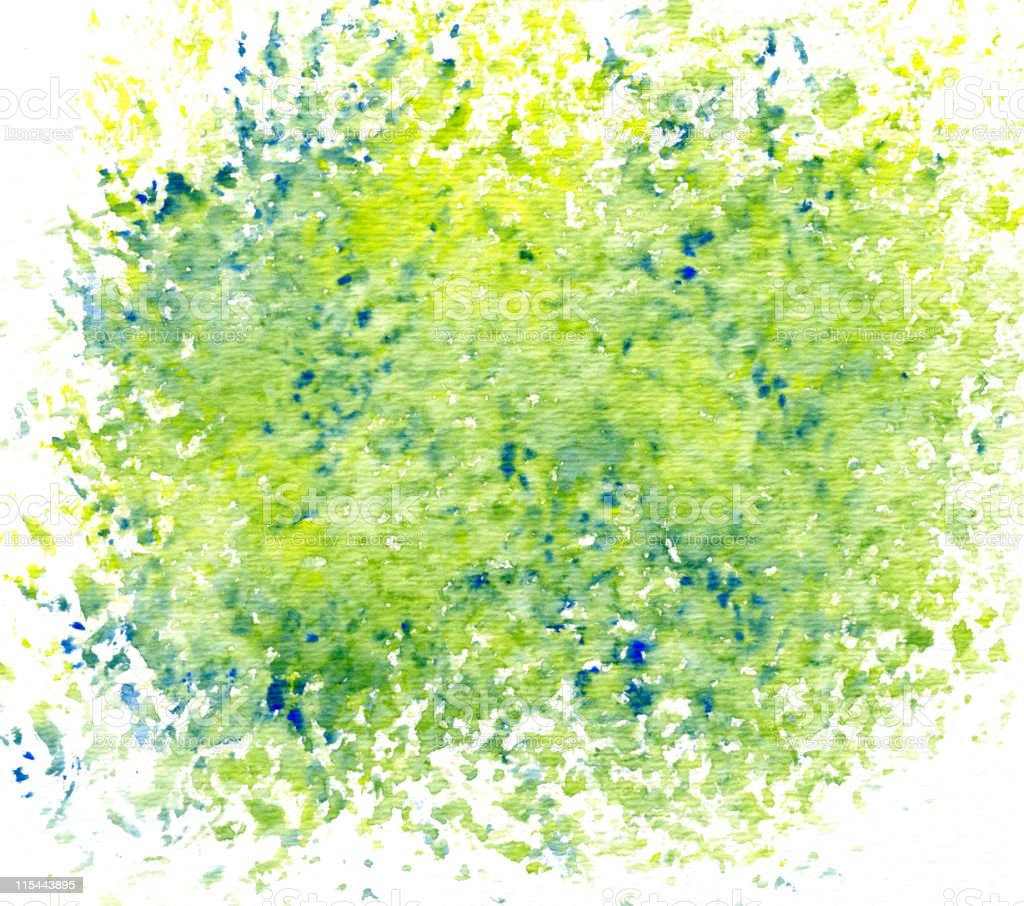 Green Speckles stock photo