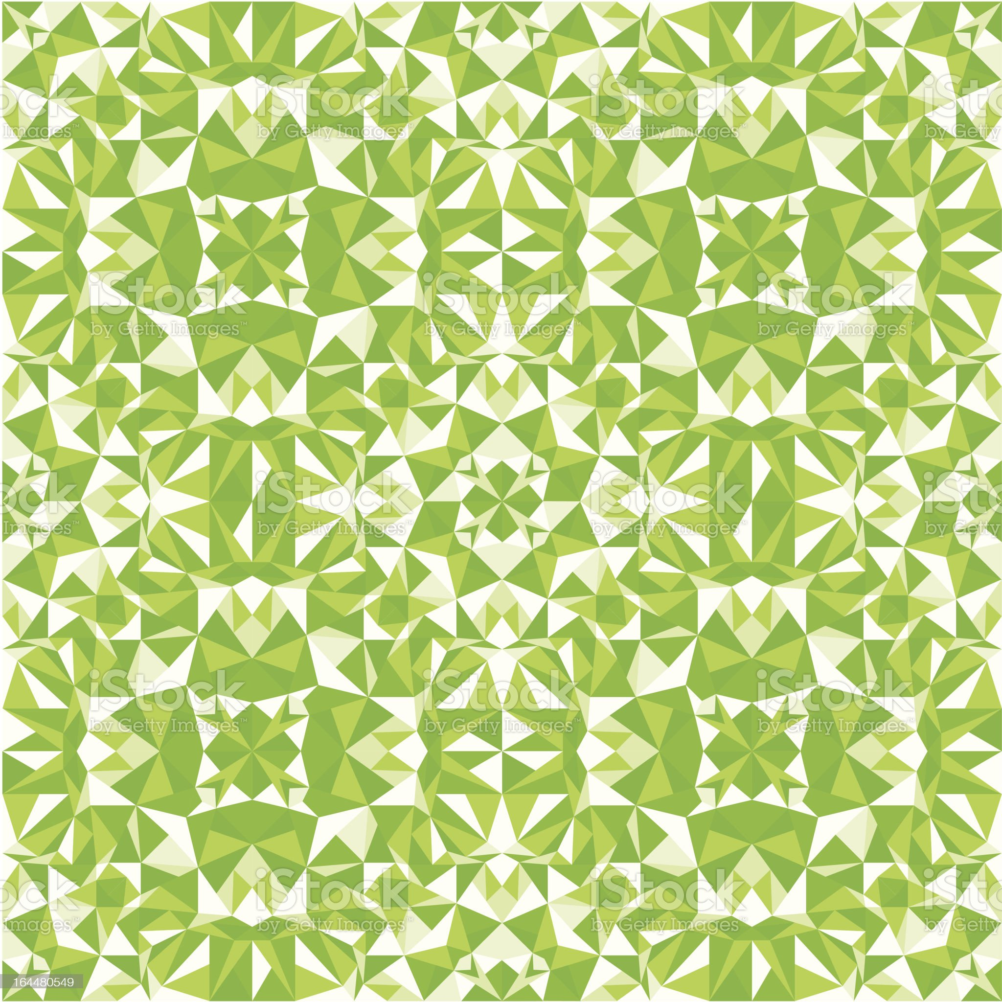 Green triangle texture seamless pattern background royalty-free stock vector art