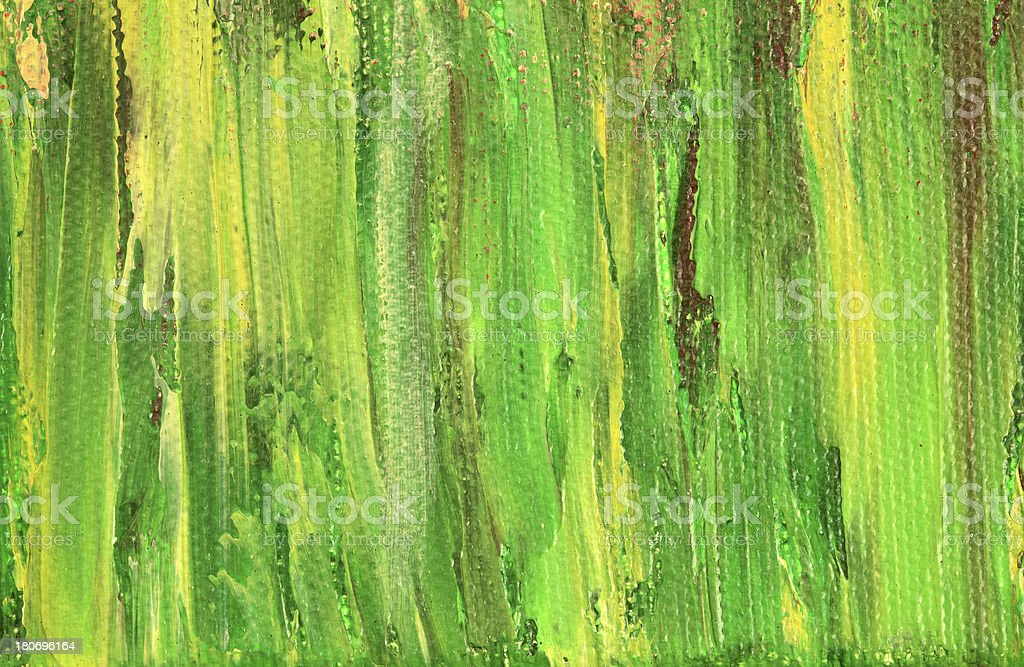Green Yellow Painted Background royalty-free stock vector art