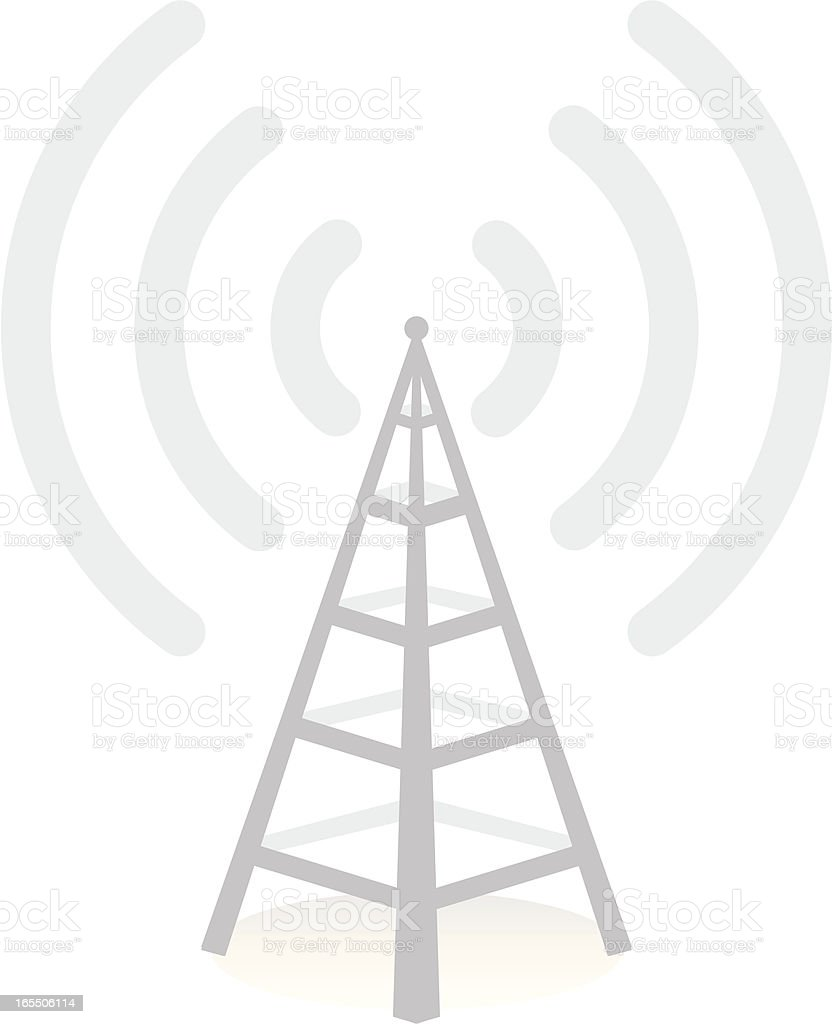 grey wireless royalty-free stock vector art