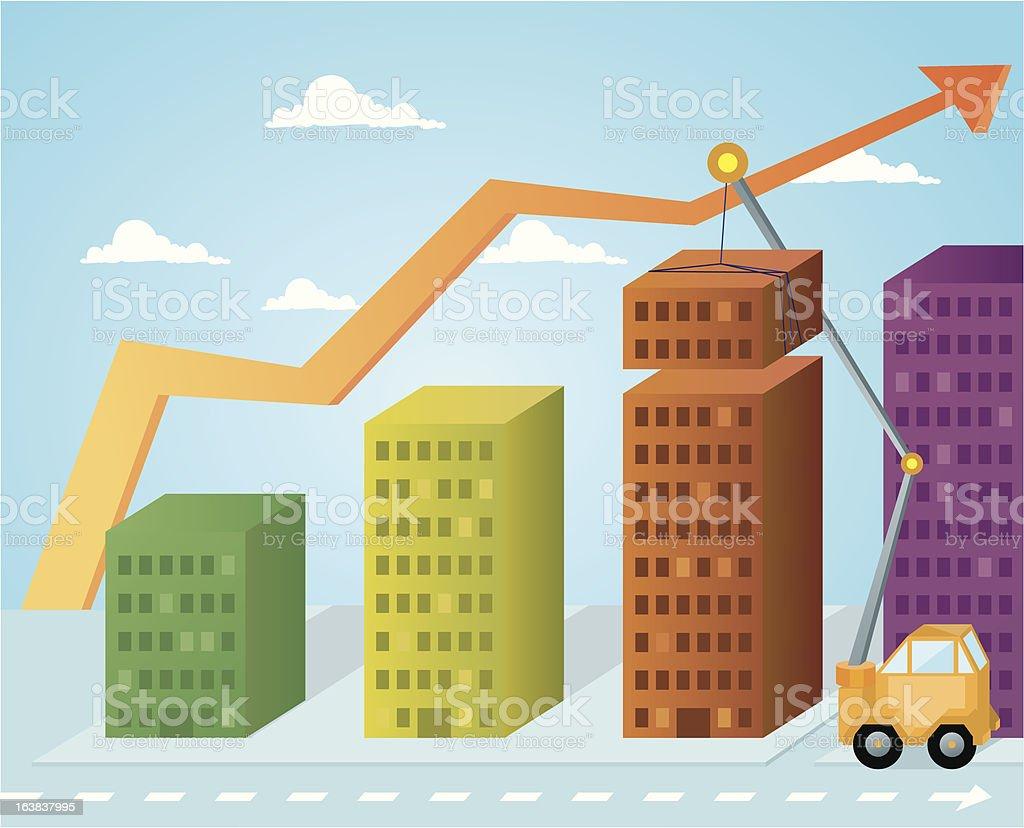 Crecimiento royalty-free stock vector art