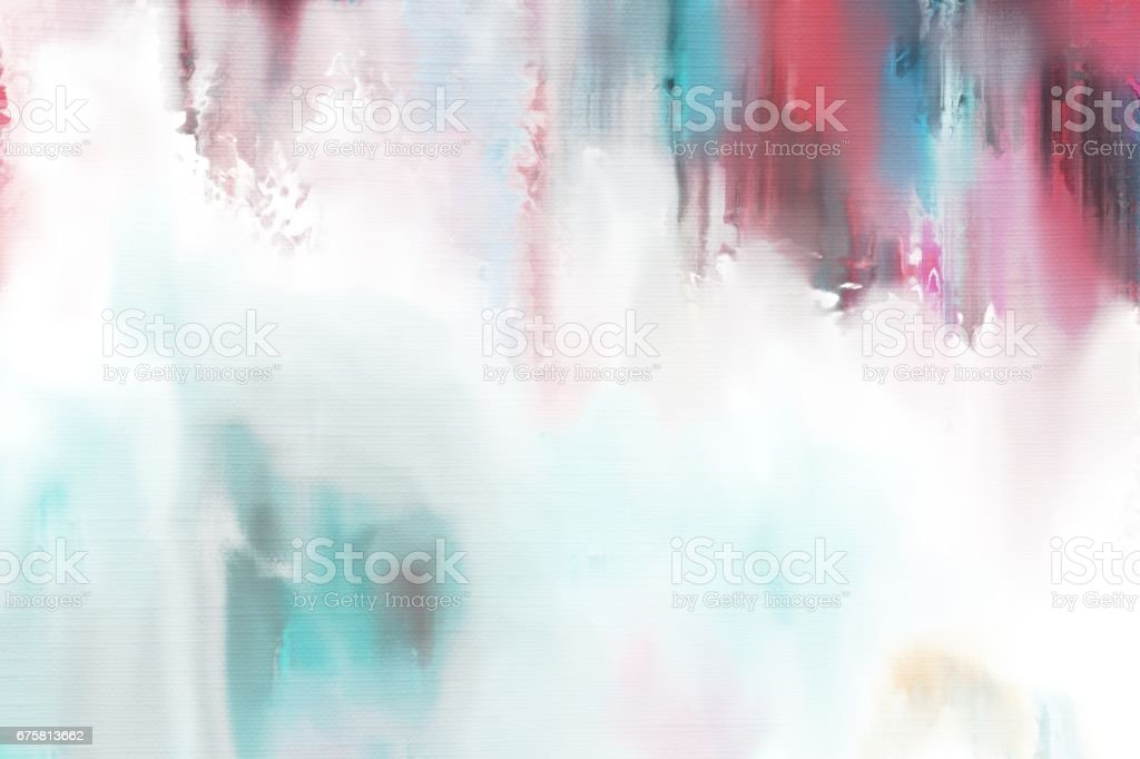 grunge abstract painting texture on canvas