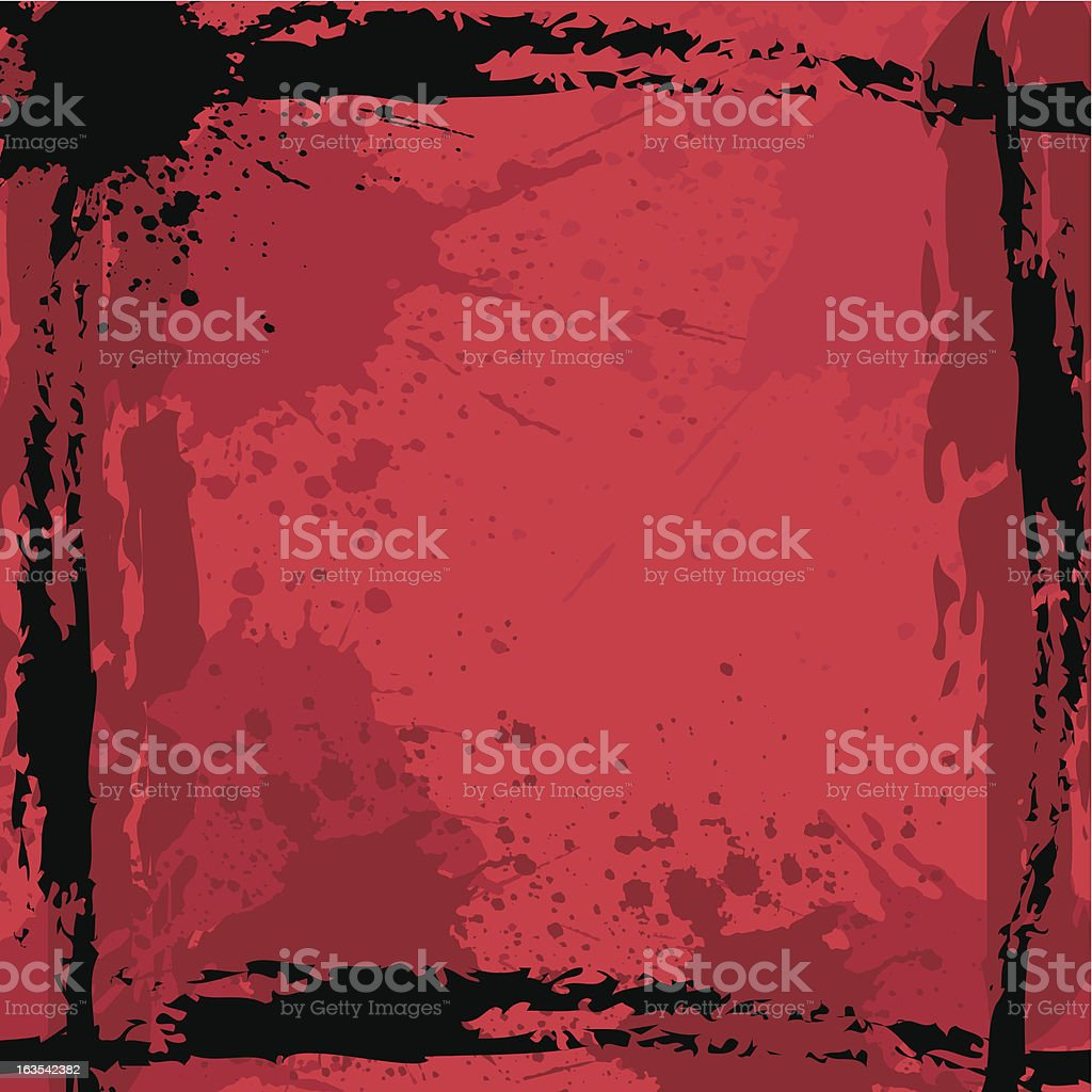 Grunge background - vector royalty-free stock vector art