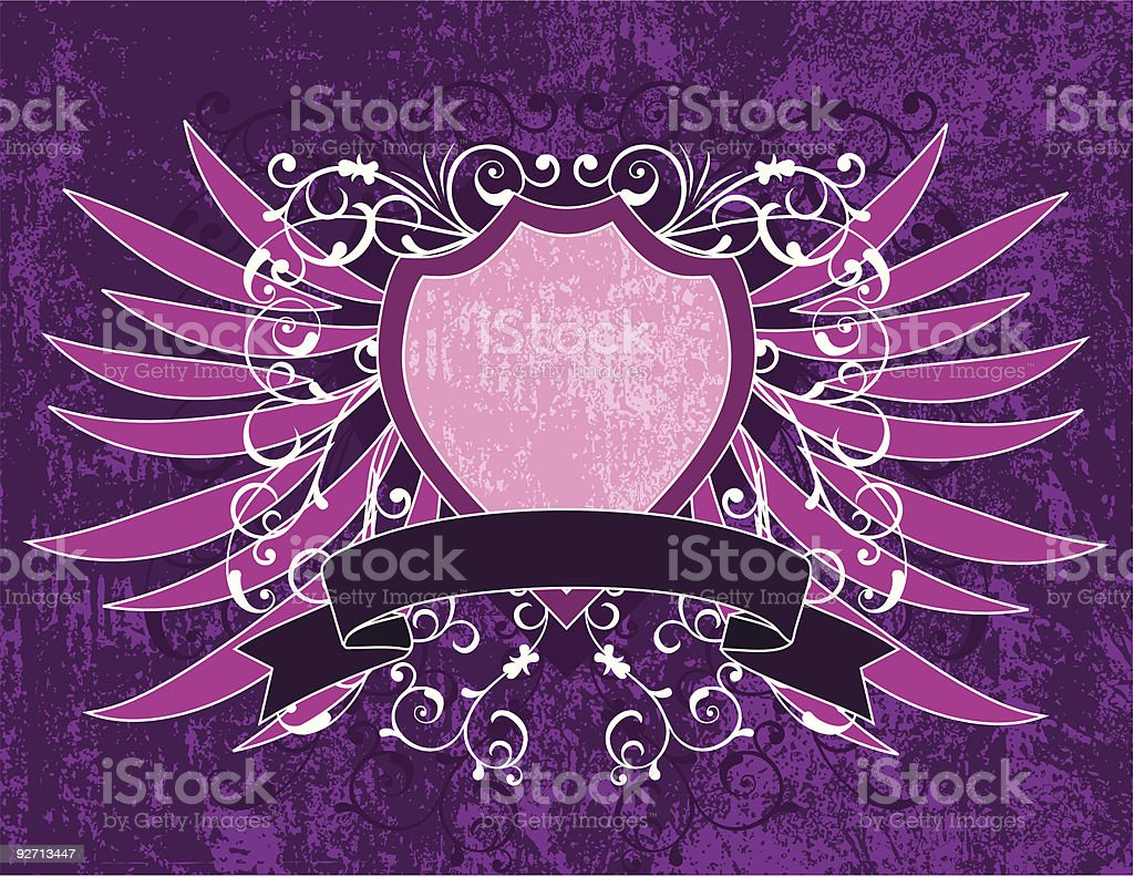 Grunge background, vector royalty-free stock vector art
