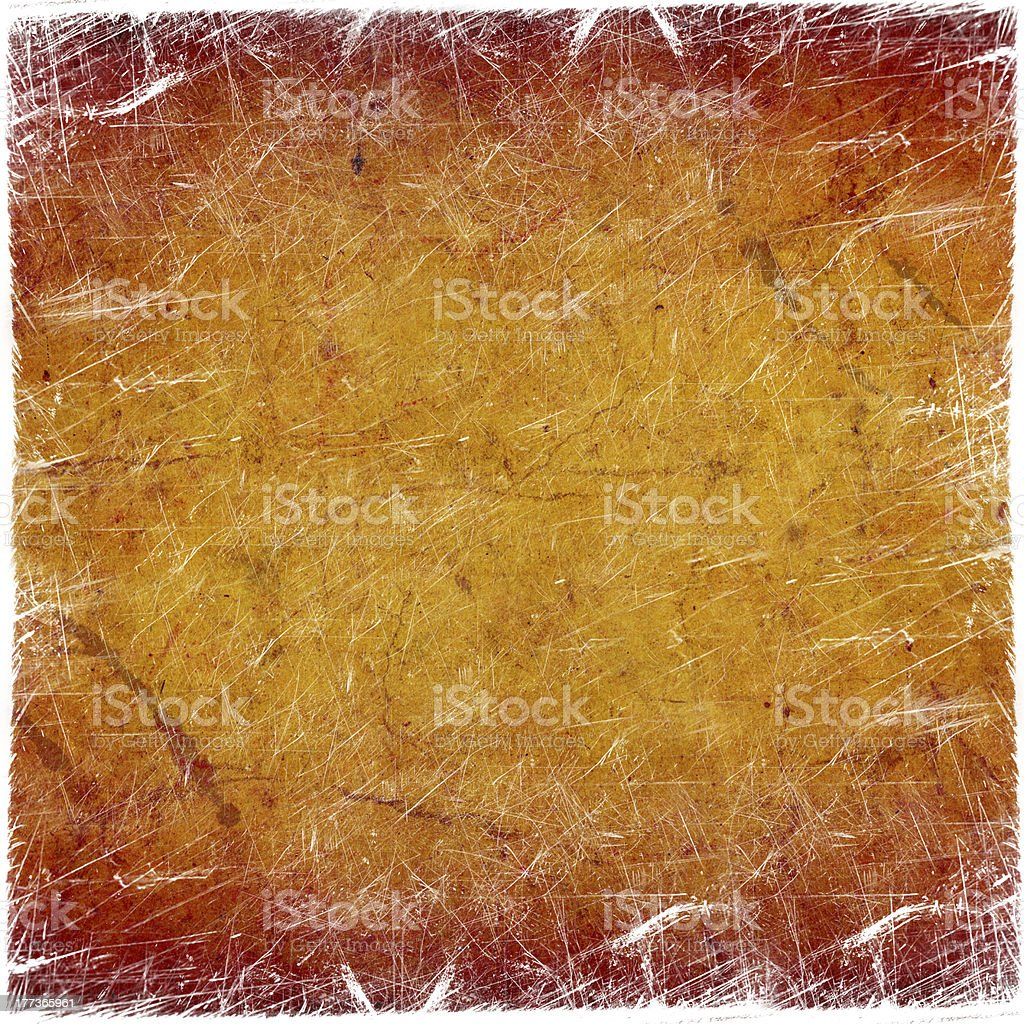 grunge background with scratches vector art illustration