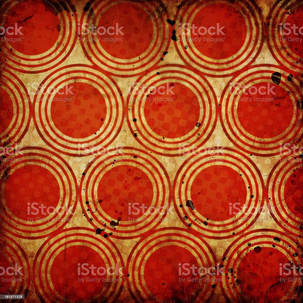 Grunge circles background royalty-free stock vector art