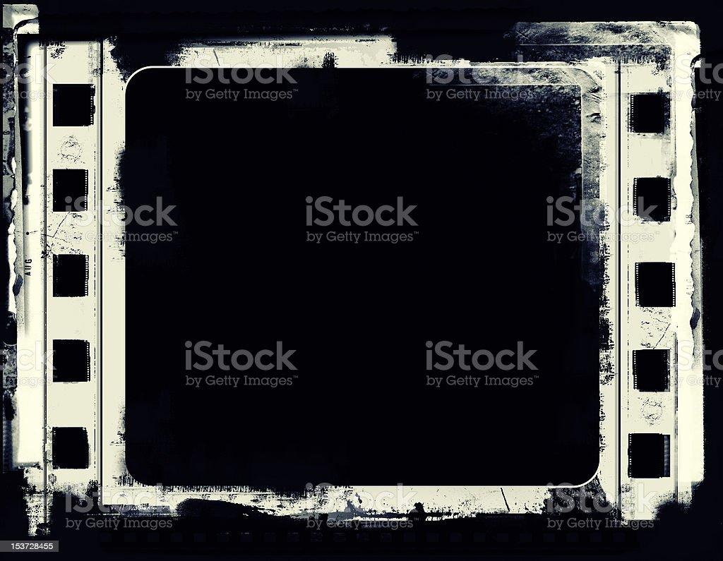 Grunge film frame royalty-free stock vector art