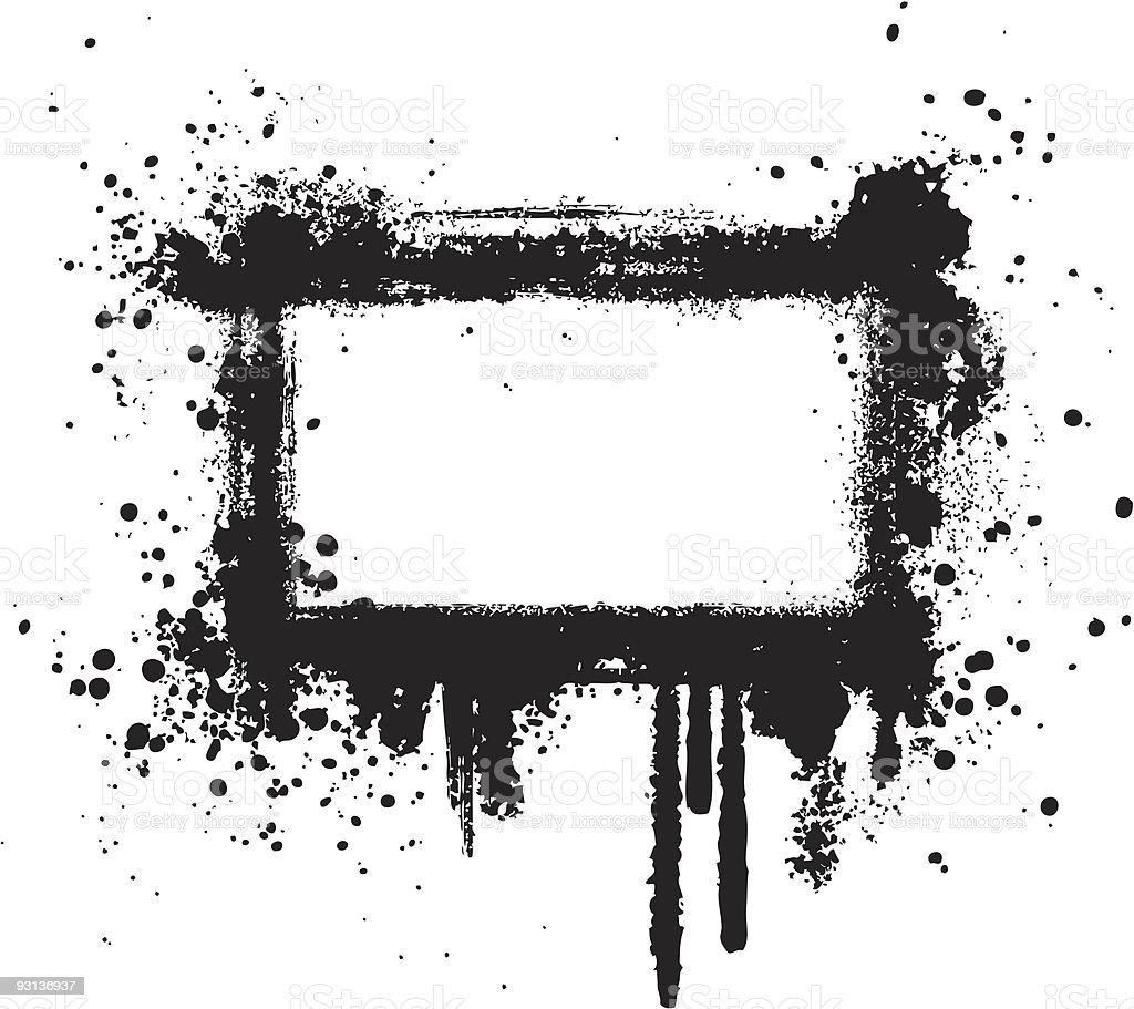 grunge frame I royalty-free stock vector art