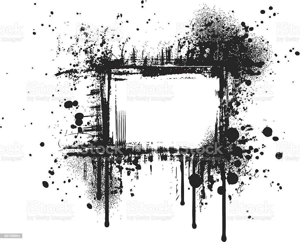 grunge frame IV royalty-free stock vector art