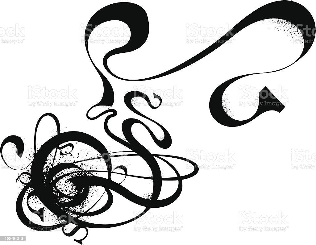 Grunge Graphic vector art illustration