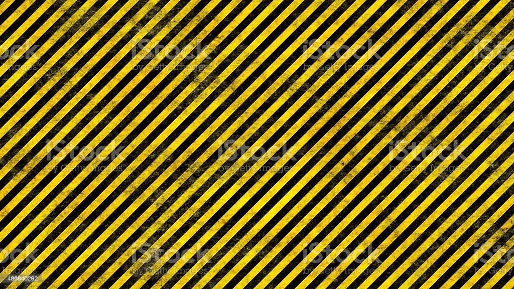Grunge Hazard Lines vector art illustration