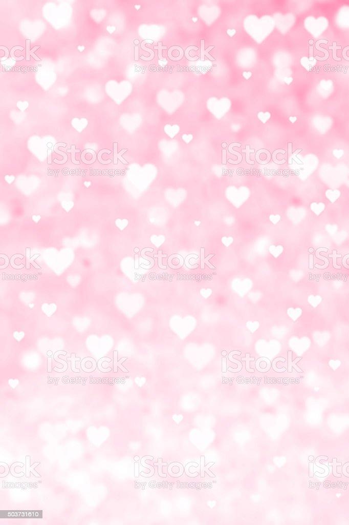 Grunge Lovely Valentine Heart Background vector art illustration