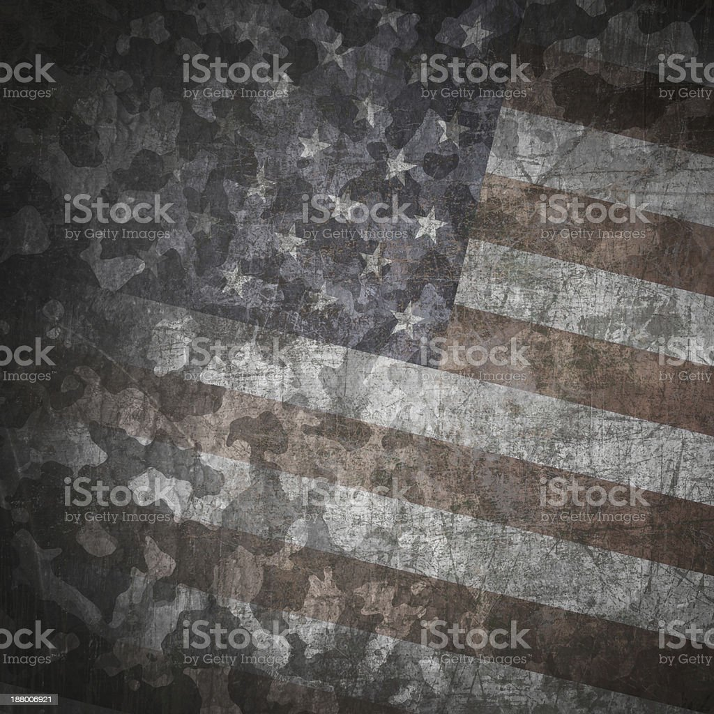 Grunge military background royalty-free stock vector art