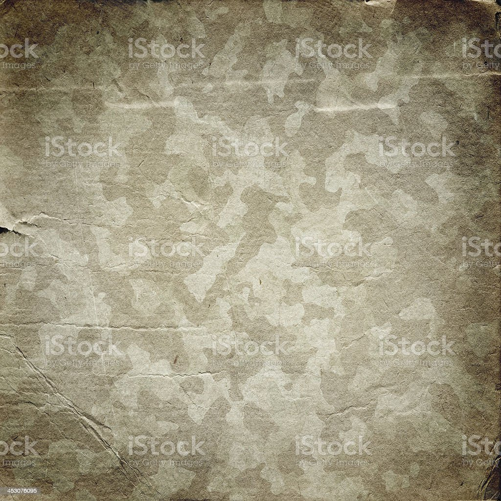 Grunge military background with a texture of paper vector art illustration
