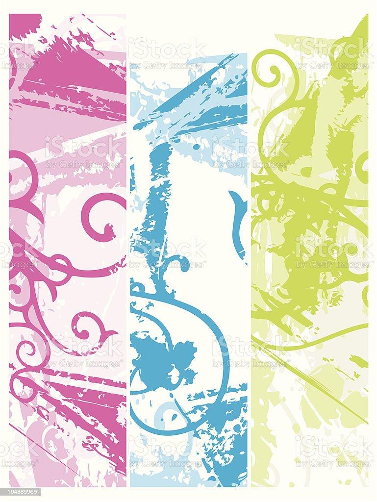 Grunge Ornamental Background Series royalty-free stock vector art