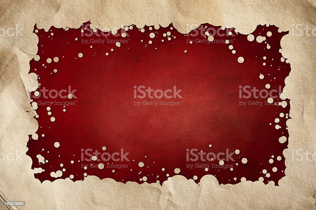 Grunge red background vector art illustration
