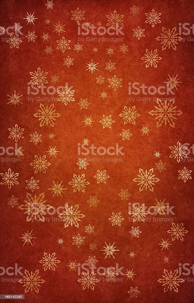 grunge red snowy background royalty-free stock vector art
